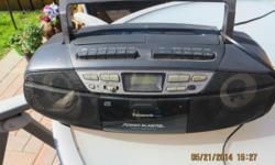 2 stereo radio , cd players, Panasonic power blaster