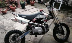 I have for sale a stomp off road bike , very fast bike