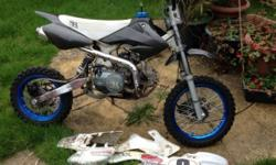 There I hav a 110cc stomp juicebox 2008 pitbike for
