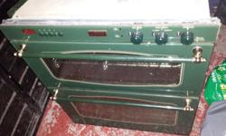 Stove electric double oven in good working order for