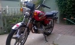 Sukida 125cc motorcycle for sale , well looked after