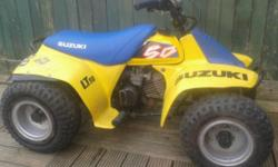 Suzuki lt50 quad 1991 very good condition starts