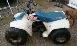 Breaking, spares or repairs, Genuine Suzuki lt 50,,