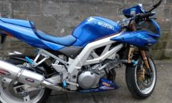 sv1000 new tyres mot only 8000 miles with all the toys