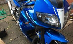 Suzuki sv 650 sport Bike is in perfect working order