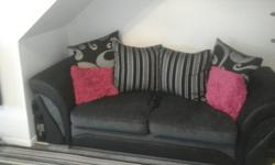 2 and 3 seater sofa for swaps only, 12 months old