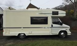 For sale 1992 5 berth motorhome with 5 seat belts , New