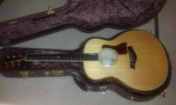 Gorgeous taylor gs6 solid sitka spruce top solid flamed