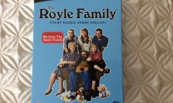 THE ROYLE FAMILY BOX SET OF THE TV SERIES GREAT