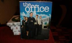 the (us) Office season 4, 4 disc dvd box set.great