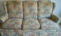 Three seater sofa in good condition for immediate sale.