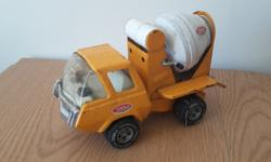Tonka cement mixer, 1970s pressed steel. As can see in