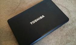 "Toshiba laptop 15.6"" laptop in excellent condition"