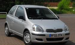 Toyota Yaris 1.0 hatchback. 3 door. 26,000 miles.