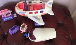 In excellent condition aeroplane play set with sounds