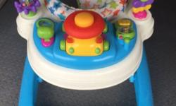 As new, baby walker, twist to the sides, music,