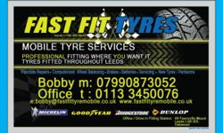 puncture repair £ 5 New / Part-worn tyres in stock no