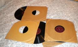 78rpm records - Uncle Mac's Nursery Rhymes Parts 1 - 6