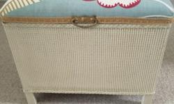 Lovely upholstered storage trunk/ chest. Great