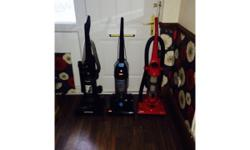 Here forsale I have 3 bagless upright vacuum cleaners