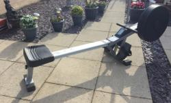 Excellent condition, v fit air rowing machine with