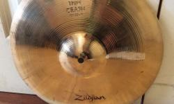 "~ Avedis Zildjian 13"" thin crash brilliant £90 (logos"