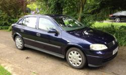 Vauxhall Astra 1.6i Club 5 Door Hatchback 2001 Y plate