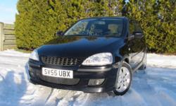 2005/ 55 Vauxhall Corsa 1.2 SXi with 79,000 warranted
