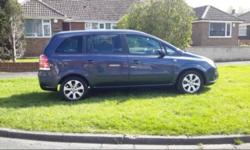 For sale Vauxhall zafira for sale immaculate condition