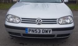 VERY CHEAP ---LOW MILES - SDI VW GOLF 1.9 SDI 5DR 12