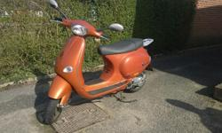 Well looked after Vespa ET4 Scooter. Currently being