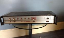 HH V-S Bassamp 100w Amplifier from 1970's . Four