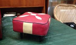 Gorgeous 1950s/60s footstool. Looks fantastic against