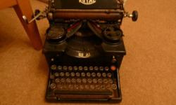 vintage royal typewriter - approx 1950 i used this for