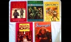 VINTAGE STORYBOOKS BASED ON FILMS - 5 TITLES - FOR