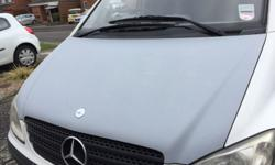 For sale is a primed bonnet off a 2004 Mercedes Vito.