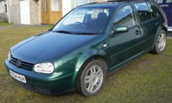 Absolutely outstanding VW Golf 1.8T 150bhp. 5 door.