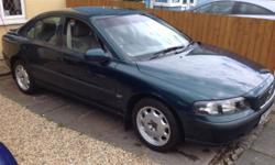 Volvo S60 2ltr. 5 cylinder Turbo model . Good runner,