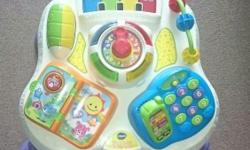 Vtech Play and Learn Activity Table in excellent