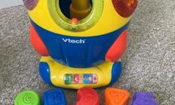 This musical shape sorter is in great condition. Has