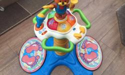 Sit and stand vtech toy in very good condition selling