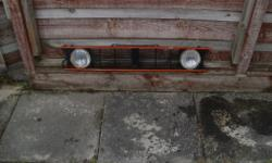 mk 1 golf gti grill for sale,comes with spot lights.the