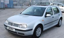 VW GOLF S 5 Door 1999 on private number plate MOT March