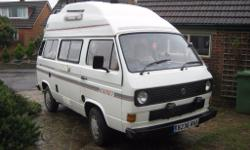 1984 1.9 Water Cooled VW T25 High Top Campervan For