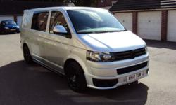 VW TRANSPORTER T6 2010. 87200 MILES WITH FULL SERVICE