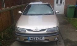W reg Renault laguna I'm selling for my ex so don't
