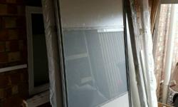 Sliding wardrobe doors new. These were unused from a