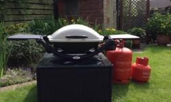 Weber Q2000 BBQ in good used condition The bbq itself,