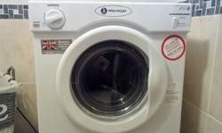 White knight 3kg vented tumble dryer with brand new