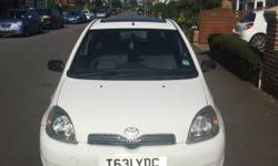 T reg (1999) Toyota Yaris owned for 7 years! 4 months